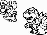 Super Mario Kart Coloring Pages Awesome Coloring Page Mario Bros and Luigi Nintendo 4771