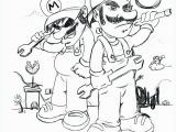 Super Mario Kart Coloring Pages Mario Coloring Pages Best Coloriage Super Mario Bros Imprimer