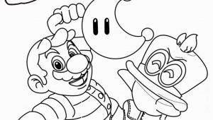 Super Mario Odyssey Coloring Pages to Print Super Mario Odyssey Coloring Pages Funy Line Drawing