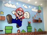 Super Mario Wall Mural Mario Wall Mario In 2019