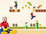 Super Mario Wall Murals Uk Super Mario Kids Room Decor Nursery Wall Sticker Wall Decals Kids Room Mural Full Wall Mural Decals Full Wall Stickers From Raoying8888 $4 4