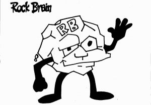 Superflex Coloring Pages Rock Brain Coloring Page Team Unthinkables Superflex social