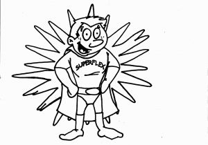Superflex Coloring Pages Superflex Coloring Page for Each Character Identify the Problem