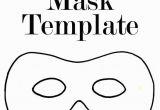 Superhero Mask Coloring Page Printable Halloween Mask Templates A Superhero Mask