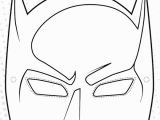 Superhero Mask Coloring Page Robin Masks Colouring Pages
