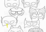 Superhero Mask Coloring Page Superhero Printable Coloring Masks Superhero Mask Hero
