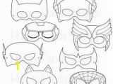 Superhero Mask Coloring Page Superhero Printable Coloring Masks Superhero Mask Hero