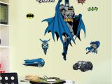 Superhero Wall Mural Stickers wholesale Removable Batman Wall Stickers for Kid Boy Cartoon
