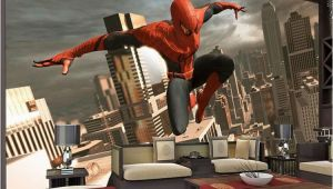 Superhero Wall Murals Wallpaper Spiderman Wall Mural Superhero Wallpaper Custom 3d Wallpaper