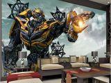 Superhero Wall Murals Wallpaper Transformers Bumblebee Wall Mural Wall Art Wallpaper