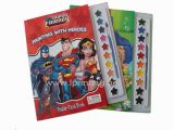 Superman Coloring Book for Sale Hot Sale Children Diy Colouring Painting Book with Dyestuff