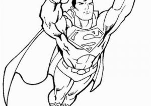 Superman Coloring Pictures to Print Superman Fly Coloring Page Free Printable