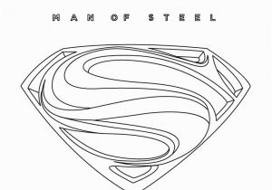 Superman Man Of Steel Coloring Pages Man Steel Logo Coloring Pages Coloring Pages