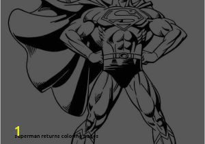 Superman Returns Coloring Pages 23 Superman Returns Coloring Pages