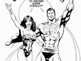 Superman Wonder Woman Coloring Pages Superman Wonderwoman Wedding Drawing Inked ] with Images