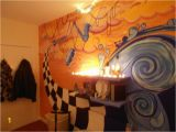 Surf themed Wall Murals Ska Punk Fused with Surfing themed Bedroom Mural In 2019