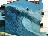 "Surf Wave Wall Mural Surf Mural ""hossegor"" Surfing"