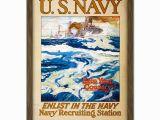 Surfing Wall Murals Posters Amazon Reuterdahl Usa Navy Recruitment Wwi War Advert