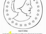 Susan B Anthony Coloring Page 74 Best It S Susan B Anthony Day Images On Pinterest