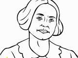 Susan B Anthony Coloring Page Susan B Anthony Coloring Page