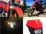 Suzuki Dirt Bike Coloring Pages Red Dirt Bike Headlight Motocross Motorcycle Headlamp for Honda