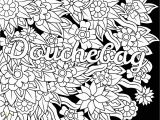 Swear Adult Coloring Pages Douchebag Swear Word Coloring Page Adult Coloring Page