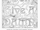Swear Adult Coloring Pages Luxury Adult Coloring Sheets Picolour