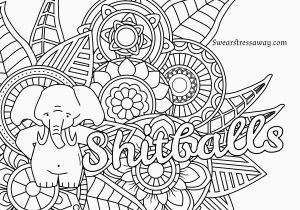 Swearing Coloring Pages Printable Free Swear Word Coloring Pages for Adults