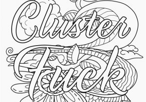 Swearing Coloring Pages Printable Swear Word Coloring Pages Printable Coloring Chrsistmas