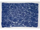 Swimming Pool Wall Murals Swimming Pool Water Reflection Limited Edition Cyanotype
