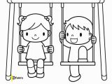 Swing Set Coloring Page 26 Best Boyama Kitabım Images On Pinterest