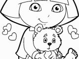 Swiper Coloring Page Cute Dora Coloring Pages