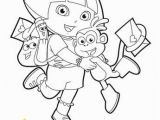 Swiper Coloring Page Free Printable Dora the Explorer Coloring Pages for Kids