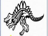 T Rex Skeleton Coloring Page 16 Best Dinosaur Coloring Pages Images