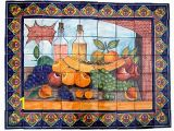 Talavera Murals Bodegon Clay Talavera Tile Mural