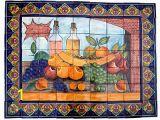 Talavera Tile Murals Bodegon Clay Talavera Tile Mural