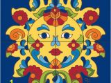 Talavera Tile Murals Tile Mural Talavera Sunface Tiles