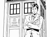 Tardis Printable Coloring Pages Doctor who Coloring Pages Coloring Home