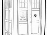 Tardis Printable Coloring Pages Doctor who Tardis Ex B W by Spgk On Deviantart