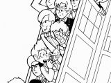 Tardis Printable Coloring Pages Tardis Coloring Page Az Coloring Pages