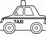 Taxi Coloring Page Awesome Taxi Coloring Page Gallery