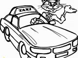 Taxi Coloring Page Taxi Coloring Page