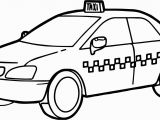 Taxi Coloring Page Taxi Driver Car Fast Coloring Page