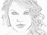 Taylor Swift Black and White Coloring Pages Free Taylor Swift