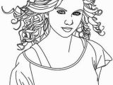 Taylor Swift Black and White Coloring Pages Taylor Swift is Country Singer Coloring Page Color Luna
