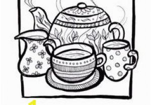 Tea Kettle Coloring Page 410 Best Free Adult Colouring Pages Images On Pinterest