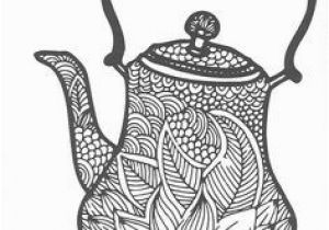 Tea Kettle Coloring Page 467 Best Coffee Tea Coloring Pages for Adults Images On Pinterest