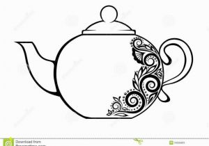 Tea Kettle Coloring Page Teapot Coloring Page 3 and Paper Art Pinterest