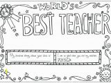 Teacher Appreciation Coloring Pages Printable Best Teacher Coloring Pages Printable Page – Posterist