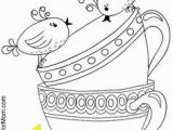 Teacup Coloring Pages to Print 572 Best Meg S Color Pages Images